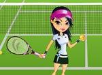 Jogadora de Tênis