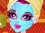 Monster High Draculaura no Spa Relaxante
