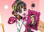 Monster High Draculaura Pintora