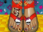 Monster High Pedicure
