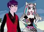 Monster High Andy Beast e Rochelle Goyle