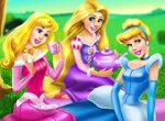 Jogo Piquenique com as Princesas da Disney