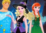 Turma do Frozen no Halloween