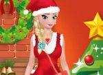 Vista Elsa para o Natal